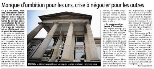 municipales à Ambert