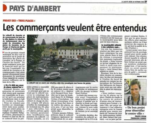 collectifs contre la mairie d'Ambert