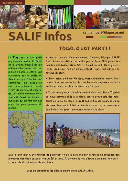 Salif infos 22 oct 2013