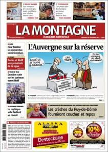 Le journal la Montagne quitte Ambert ?!?