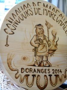3ème concours international de maréchalerie de Doranges : bravo !