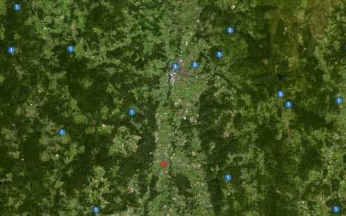 Les dispositifs radio-électriques sur le secteur d'Ambert