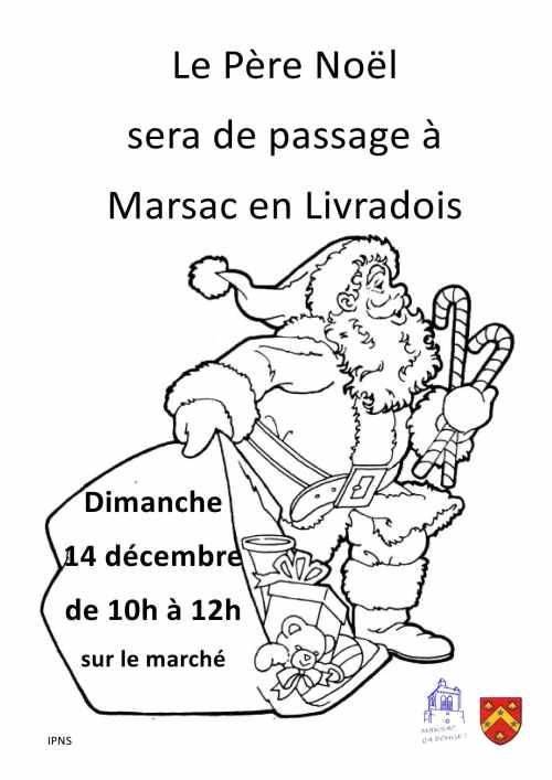 Marsac en Livradois Père Noël
