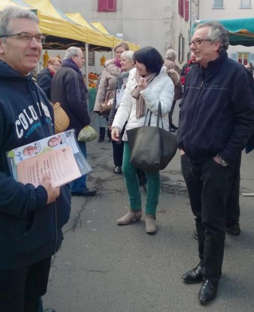 Tracts, professions de foi, Denis Gourbeyre s'y connait en communication !