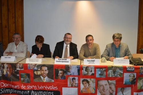 Donneurs de sang bénévoles d'Ambert - Assemblée générale 2015 - Photo Laurence Tournebize