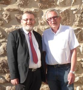 Michel Sauvade et Daniel Barrier