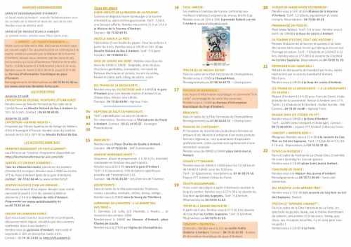 agenda du 15 AU 22 AOUT (2)