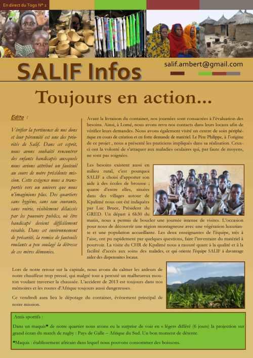 Salif infos en direct du Togo N° 2