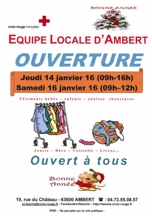 Ouverture Ambert