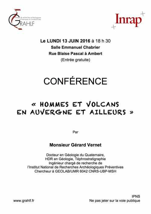Affiche Conférence GRAHLF 13 06 2016