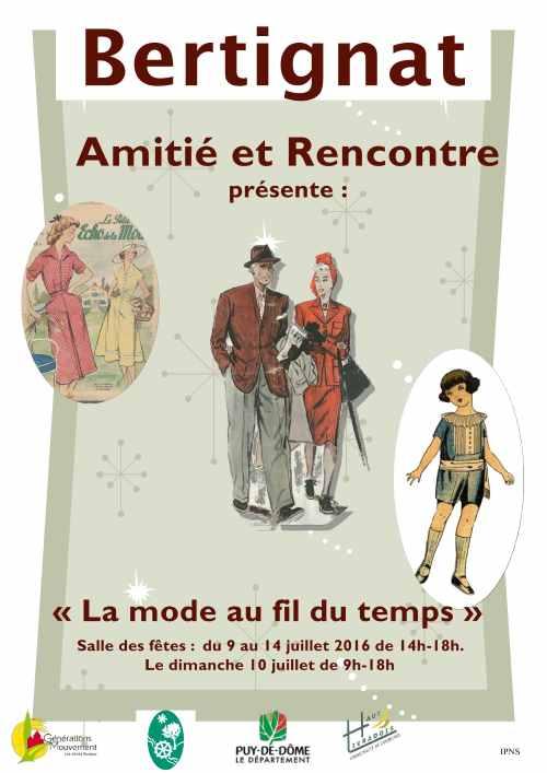 AMITIE ET RENCONTRE AFFICHE EXPO