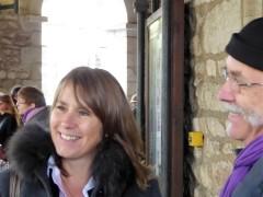 Florence DINOUARD la candidate de la Droite et du Centre