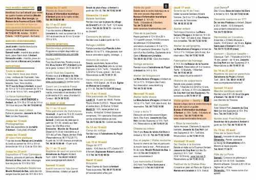 Agenda du 12 AU 19 AOUT (2)